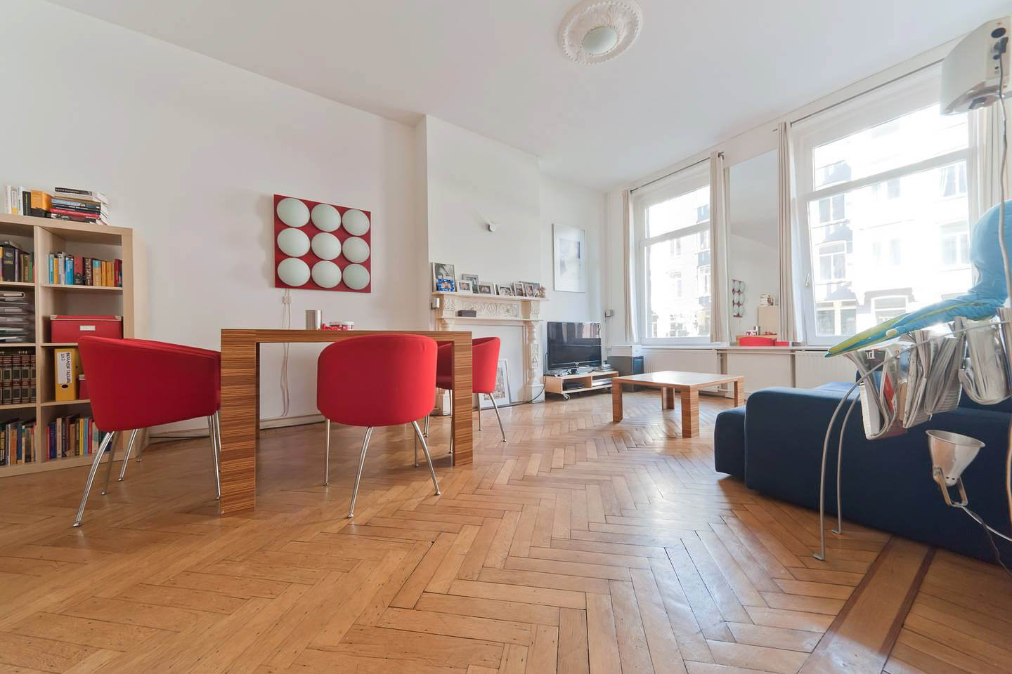 A very large Airbnb Amsterdam city centre