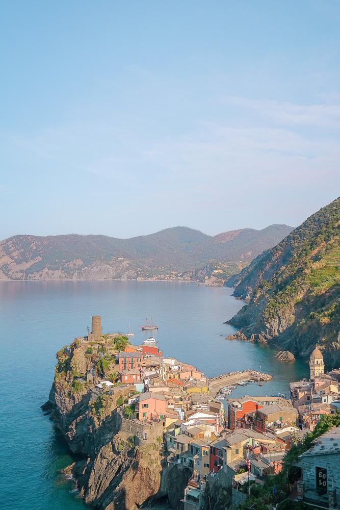 Vernazza — arguably the most picturesque Cinque Terre village