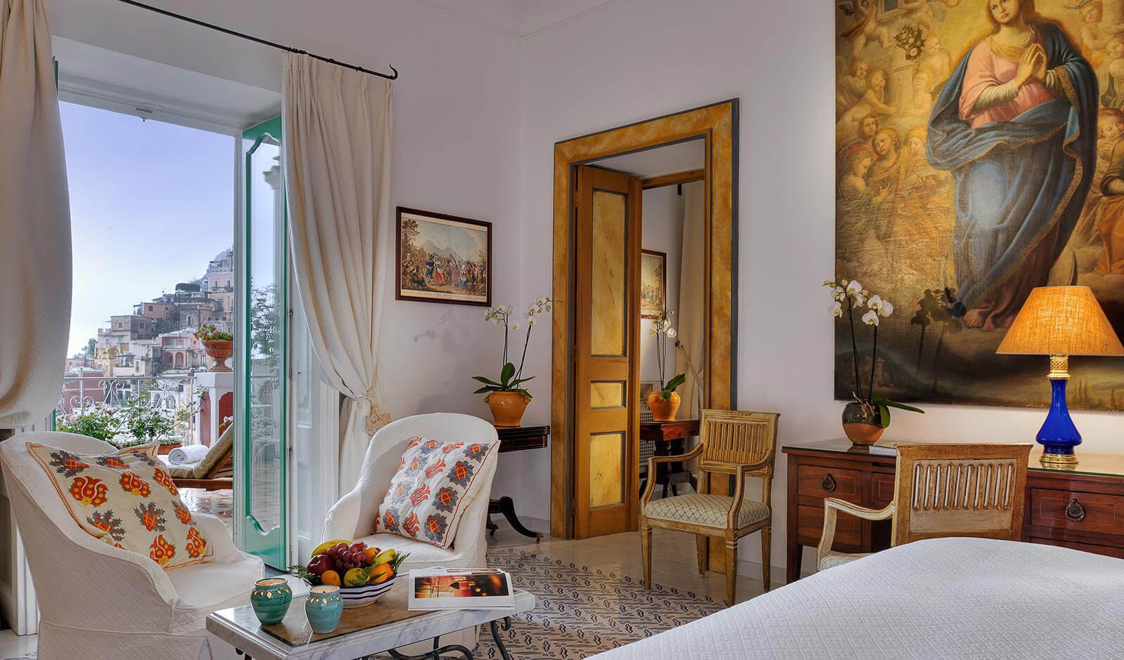 Le Sirenuse, one of the top hotels Amalfi Coast