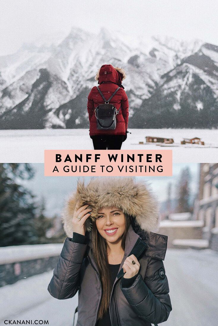 Banff winter: a guide to visiting the gem of Alberta Canada (even if you've never skied)! Where to stay in Banff, eat, drink, see, and do. #alberta #canada #fairmontmoments