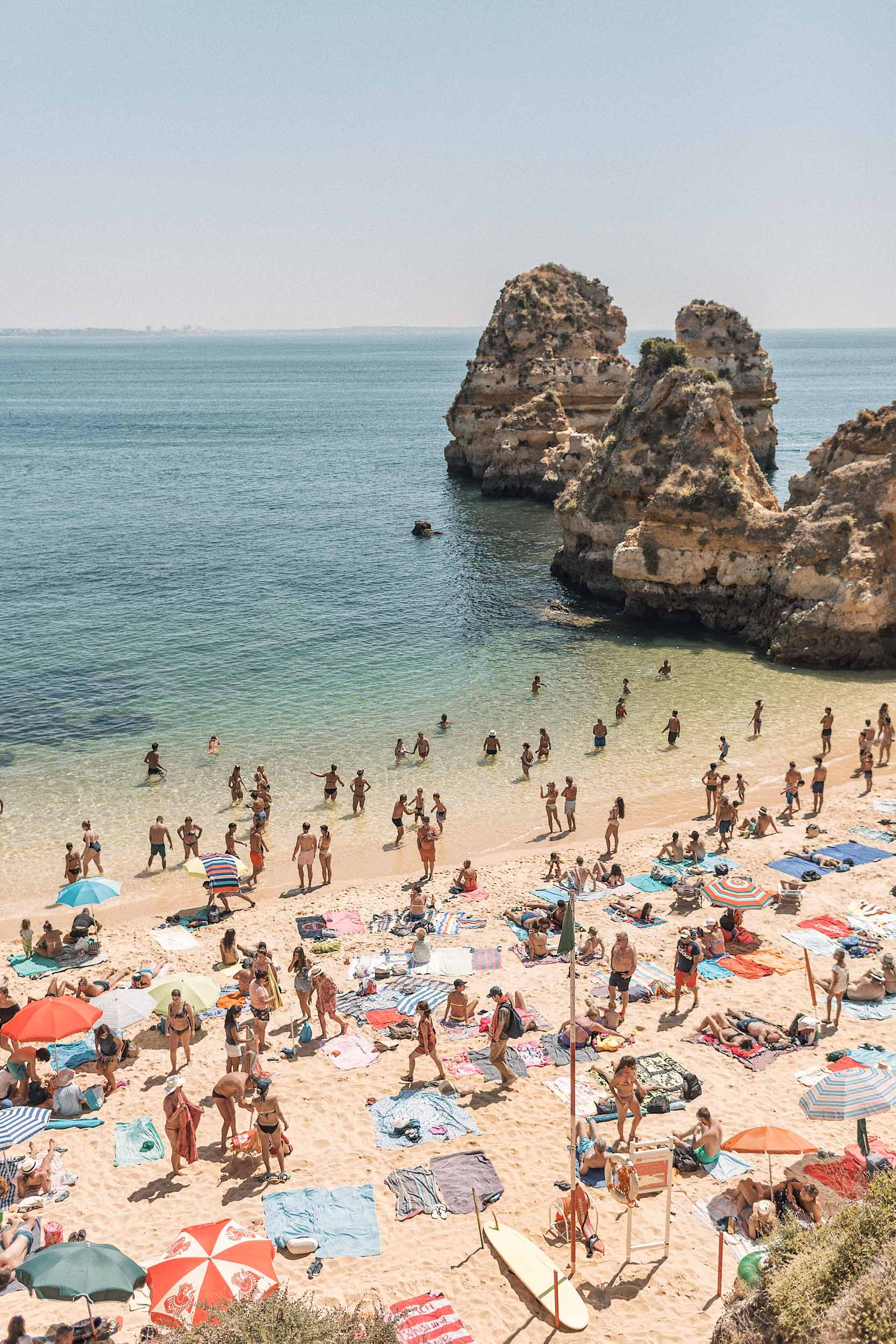 Lagos is located in the Algarve region on the southern coast of Portugal