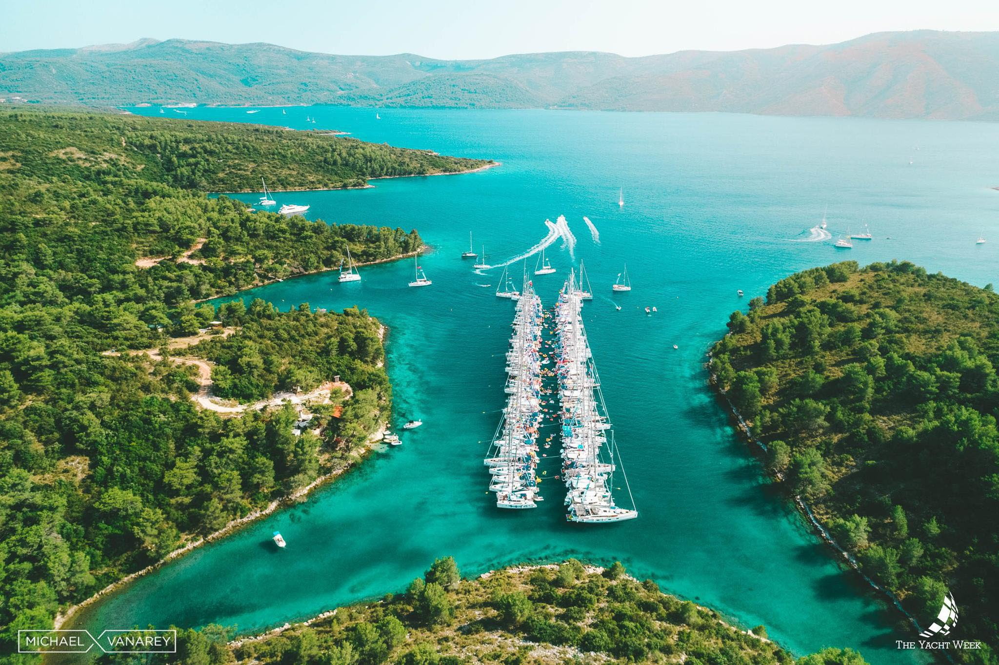 A great 7 days in Europe itinerary option is the Croatian islands
