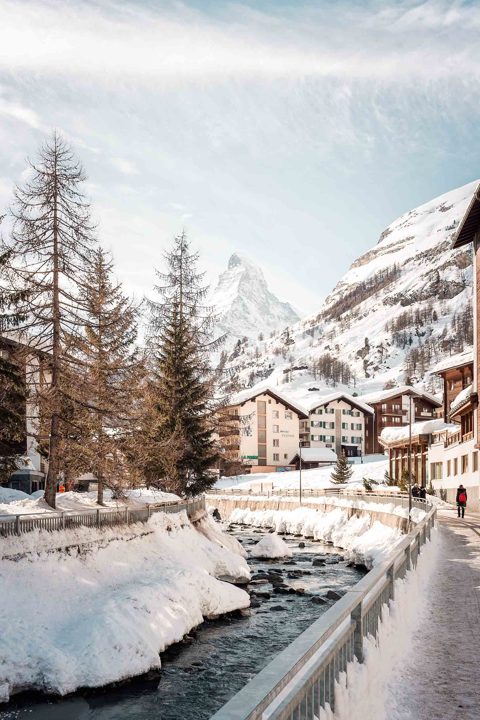 Want to see Europe in a week? Zermatt and Gstaad are the perfect spots to explore