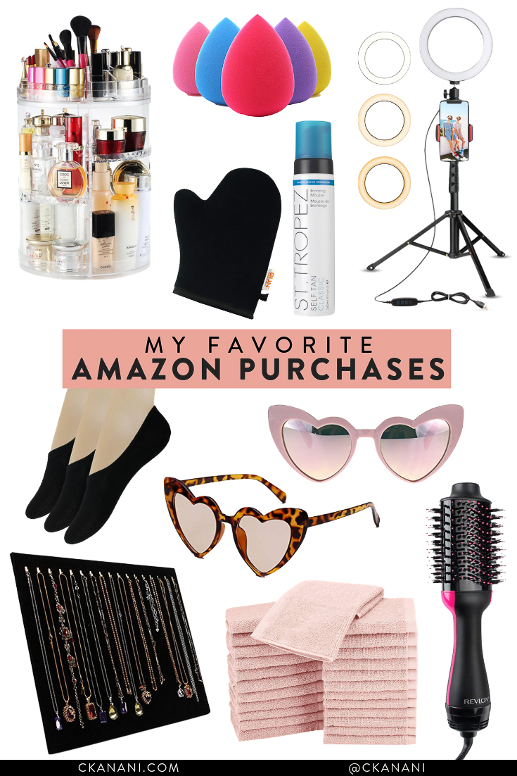My favorite Amazon purchases - a guide to the best things to buy on Amazon! #amazon #beauty #fashion