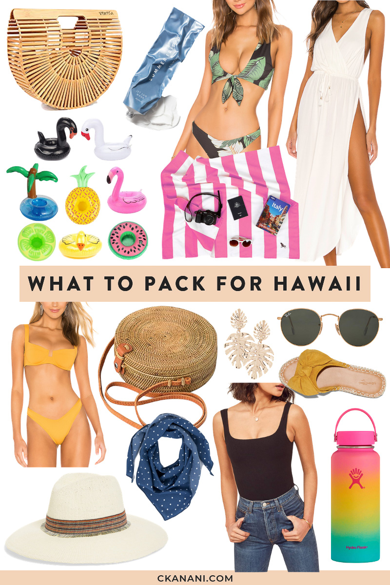 Looking for a Hawaii packing list or wondering what to bring to Hawaii? Here's a full list of what to pack for Hawaii. #hawaii #oahu #packinglist #packingtips #traveltips #packing