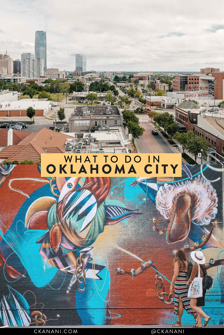 Wondering what to do in Oklahoma City? Here is the perfect weekend OKC itinerary! Full of all of the best things to eat, drink, see, and do. #seeokc #okc #travel #usa