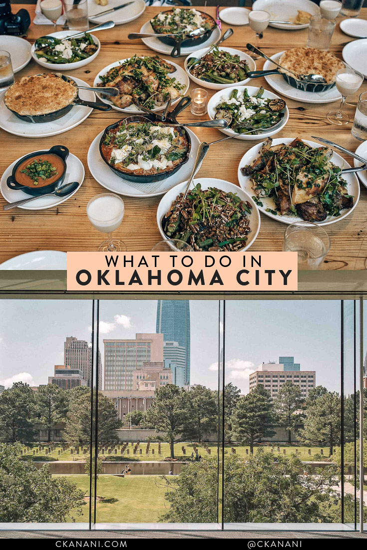 Wondering what to do in Oklahoma City? Here is the perfect weekend OKC itinerary! Full of all of the best things to eat, drink, see, and do. #seeokc #okc #travelguide #usa
