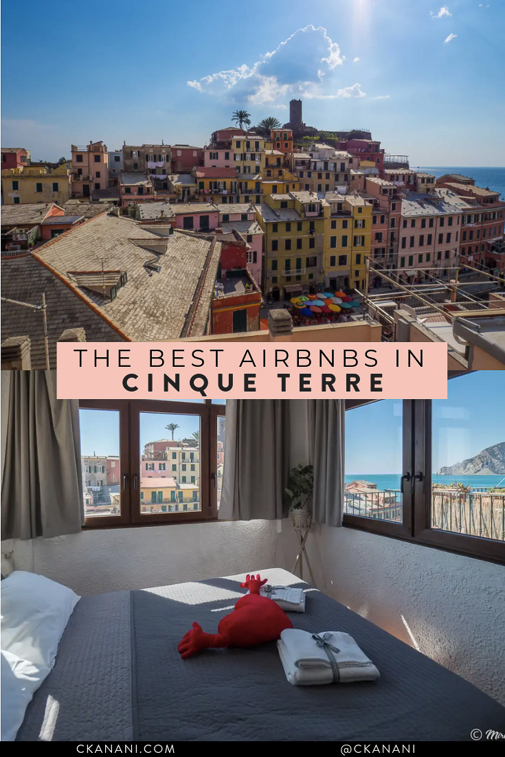 Wondering where to stay in Cinque Terre? Here are the 12 best Airbnb Cinque Terre accommodation options! #airbnb #cinqueterre #italy #accommodation