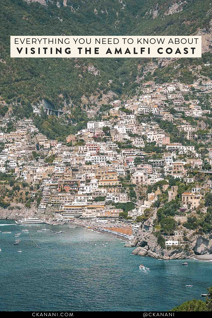 Everything you need to know about visiting Positano on the Amalfi Coast, Italy, including how to get there, where to stay, where to eat and drink, and what to do! #positano #amalficoast #travelguide
