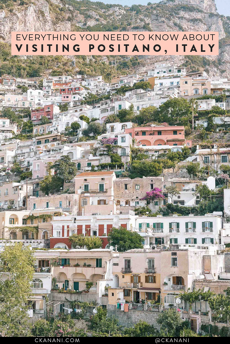 A thorough guide (with the help of locals) to visiting the Amalfi Coast, Italy, including how to get there, where to stay, where to eat and drink, and what to do! #positano #amalficoast #travelguide