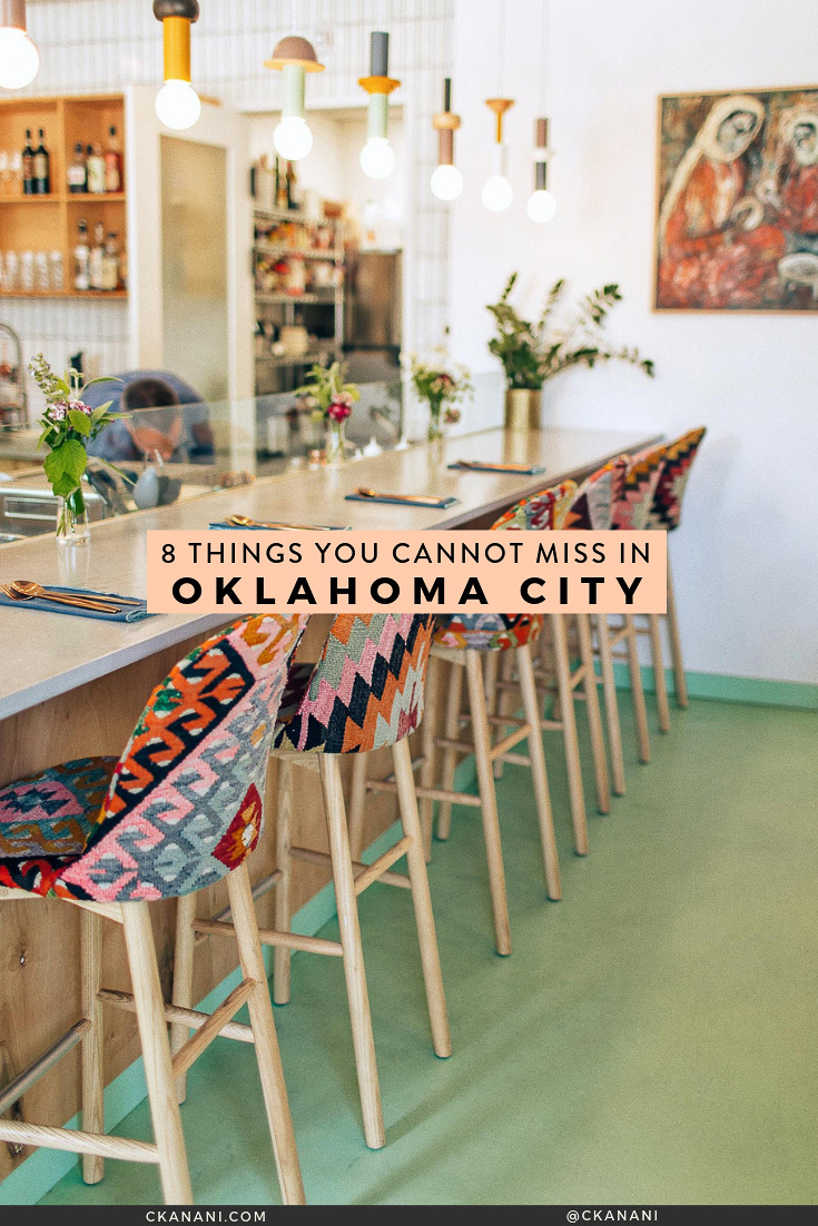 Heading to OKC and wondering what to do? I have narrowed down my list to 8 things you absolutely cannot miss! The best things to see, do, eat, and drink. #seeokc #oklahomacity