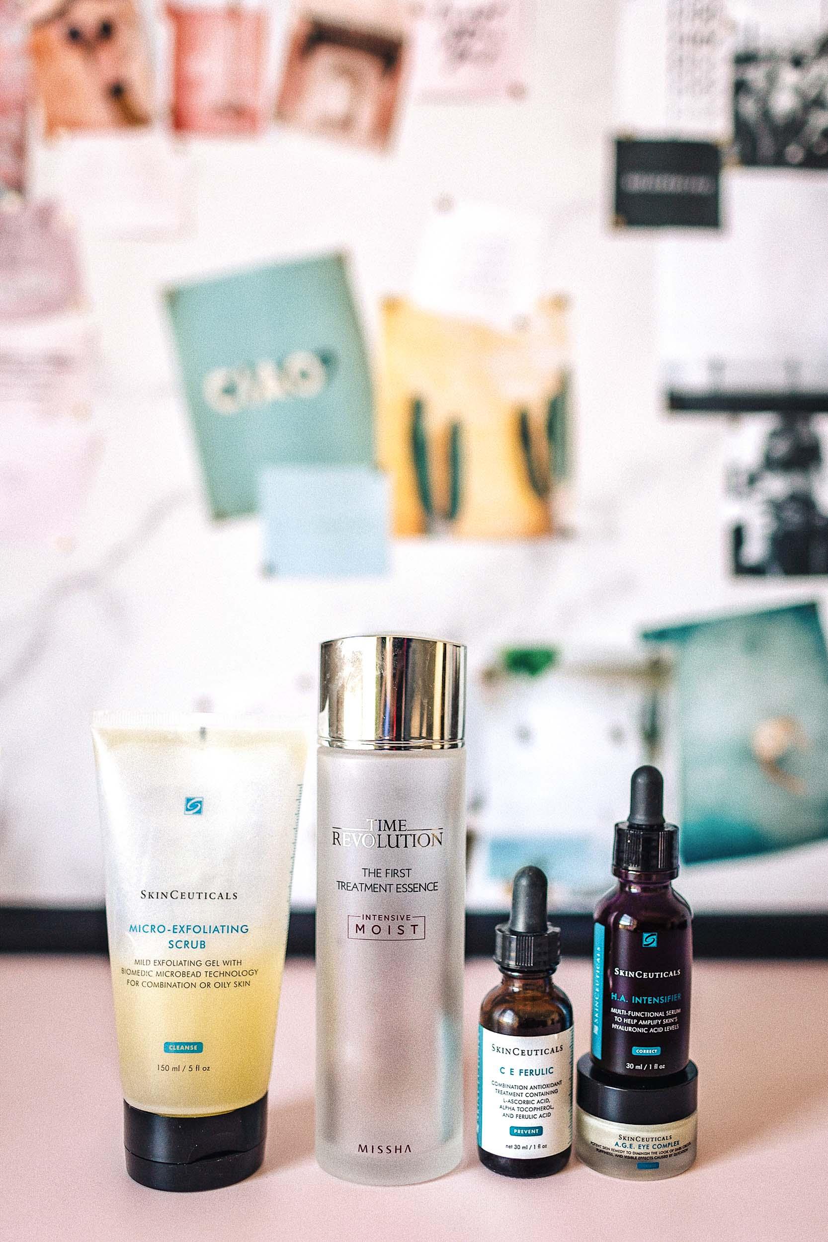 My morning anti aging skin care routine