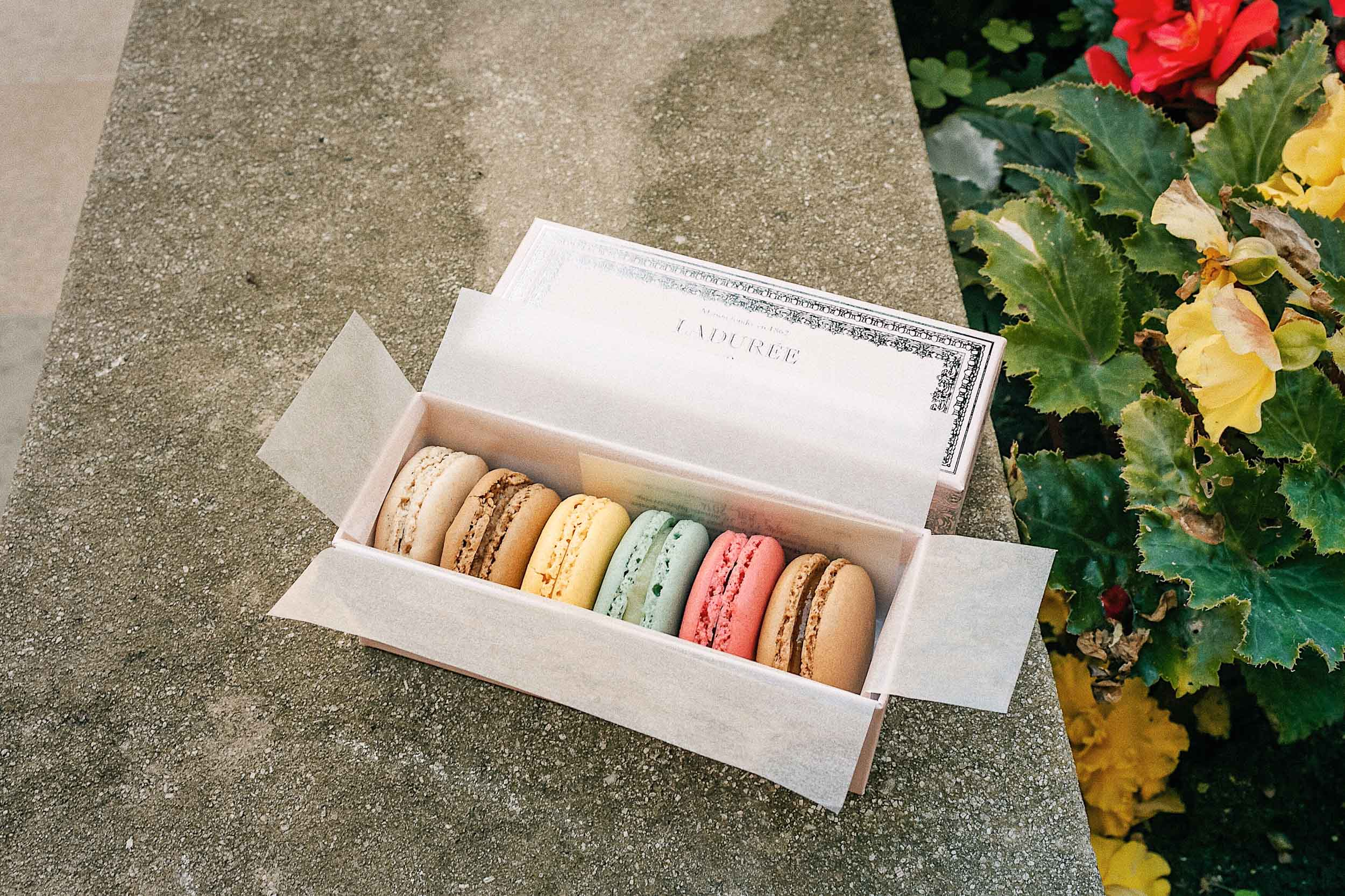 French Macarons from Laduree in Paris