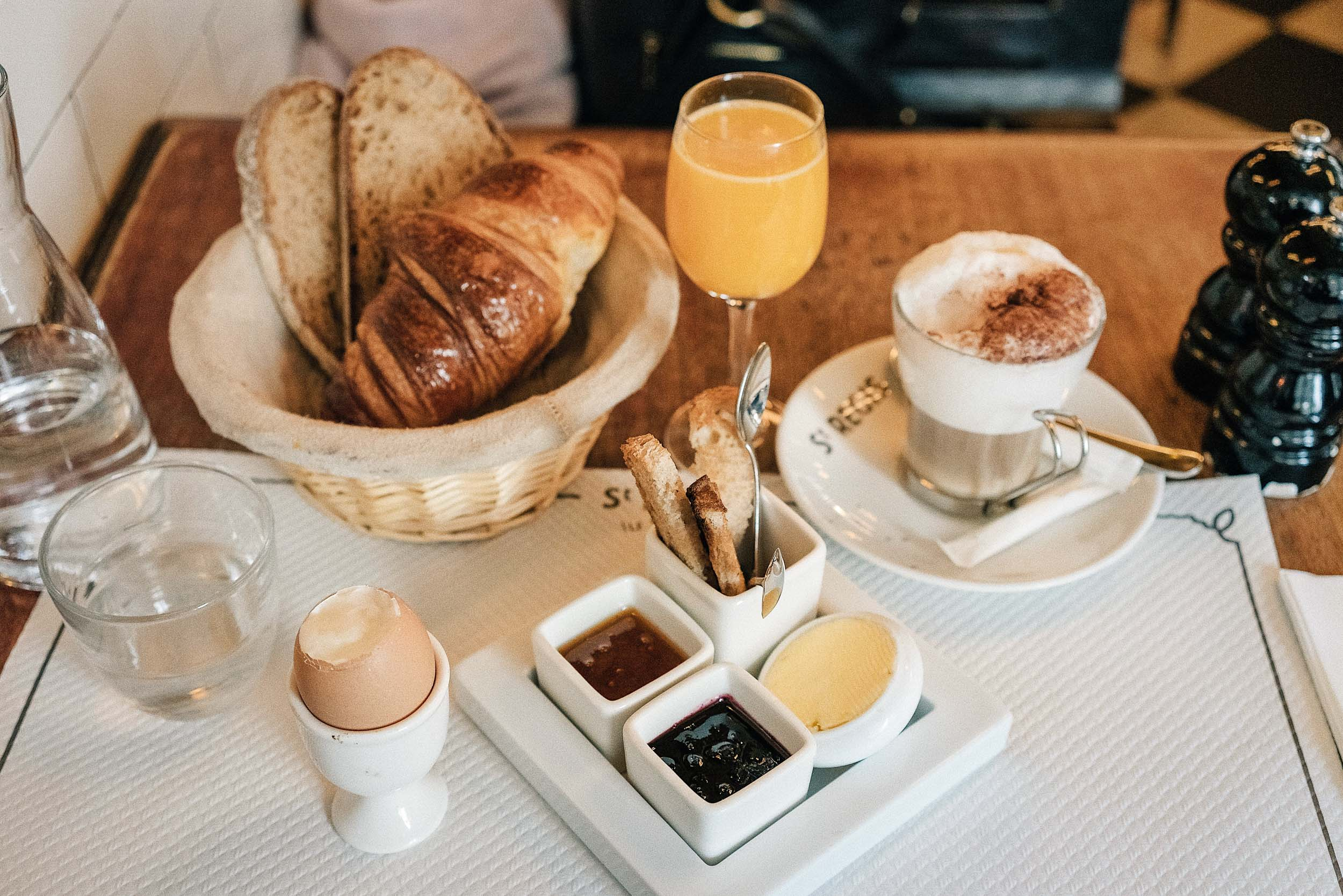 The best food in Paris: croissants, French bread, cappuccinos, and more at Cafe Saint Regis