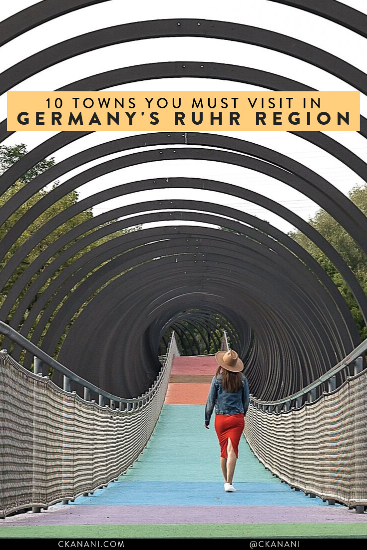 10 towns you must visit in Germany's Ruhr Region. #germanytourism #travelscenicgermany #germany #europe #travelguide #itinerary #travelinspo