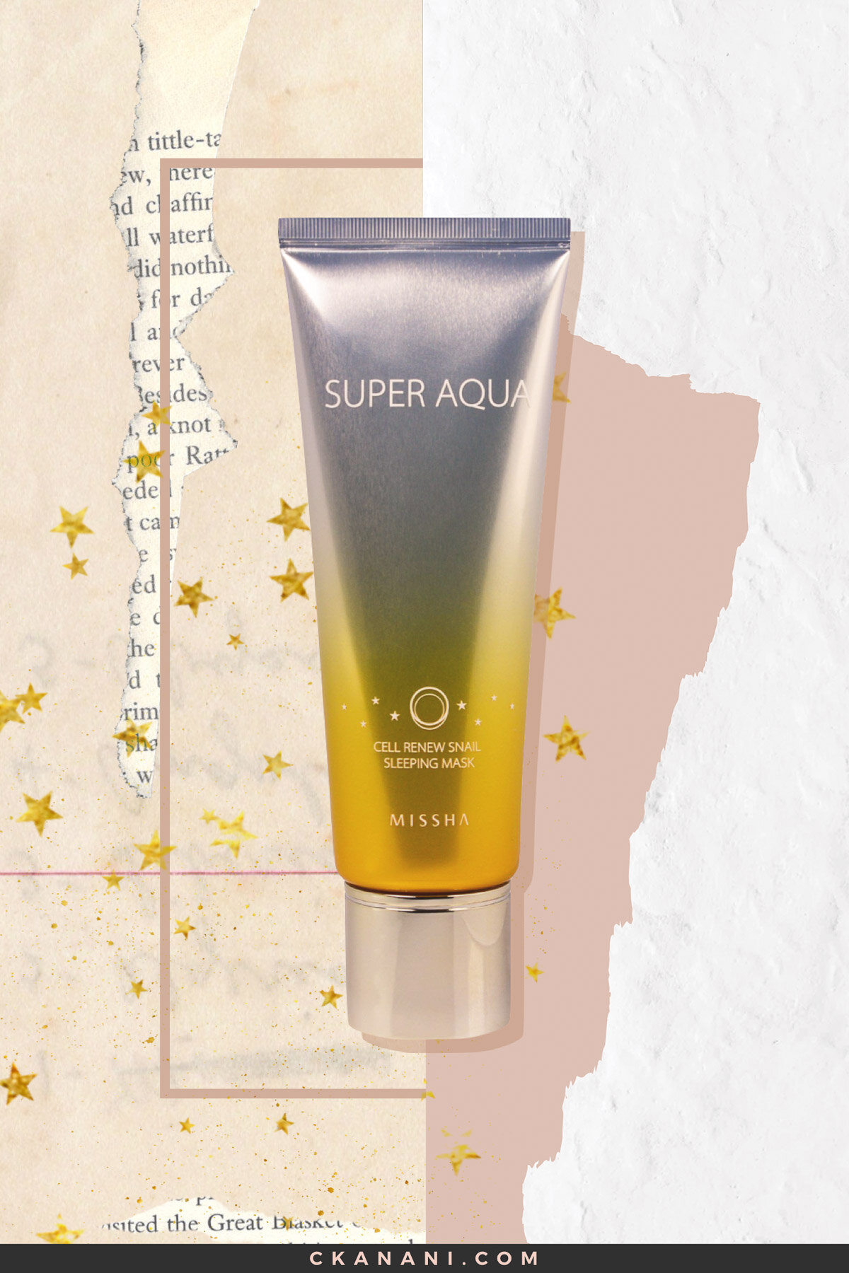 Missha Super Aqua Cell Renew Snail Sleeping Mask: The Best Face Masks
