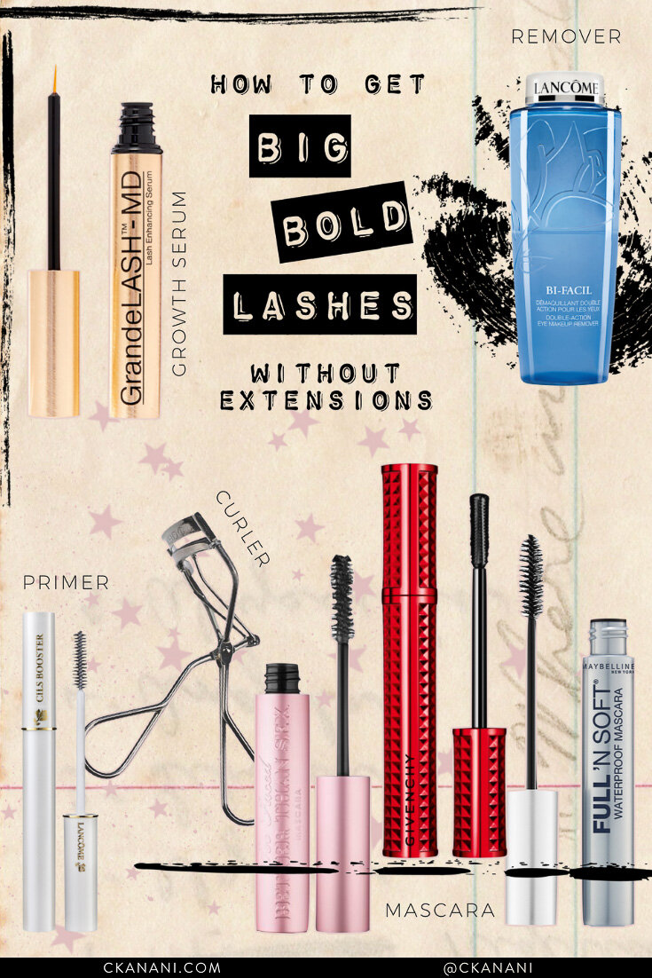 How to get long, thick lashes without extensions. The best eyelash growth serum, mascara, and more. #beauty #lashes #eyelashes #ltkbeauty #mascara