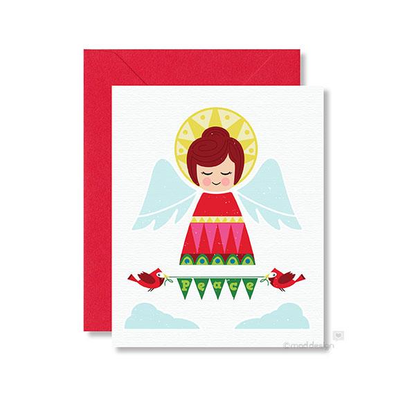New Peace Angel holiday card