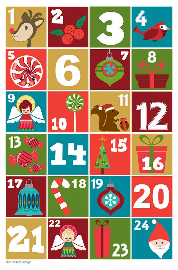 Advent Calendar Art