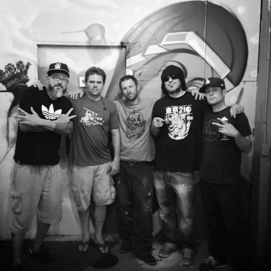 Sonny Wong, Shawn Griggs, Kyle William Harper, Nik Soupe, John Michael Gill.