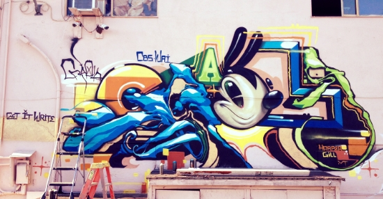 Craola did an amazing piece.