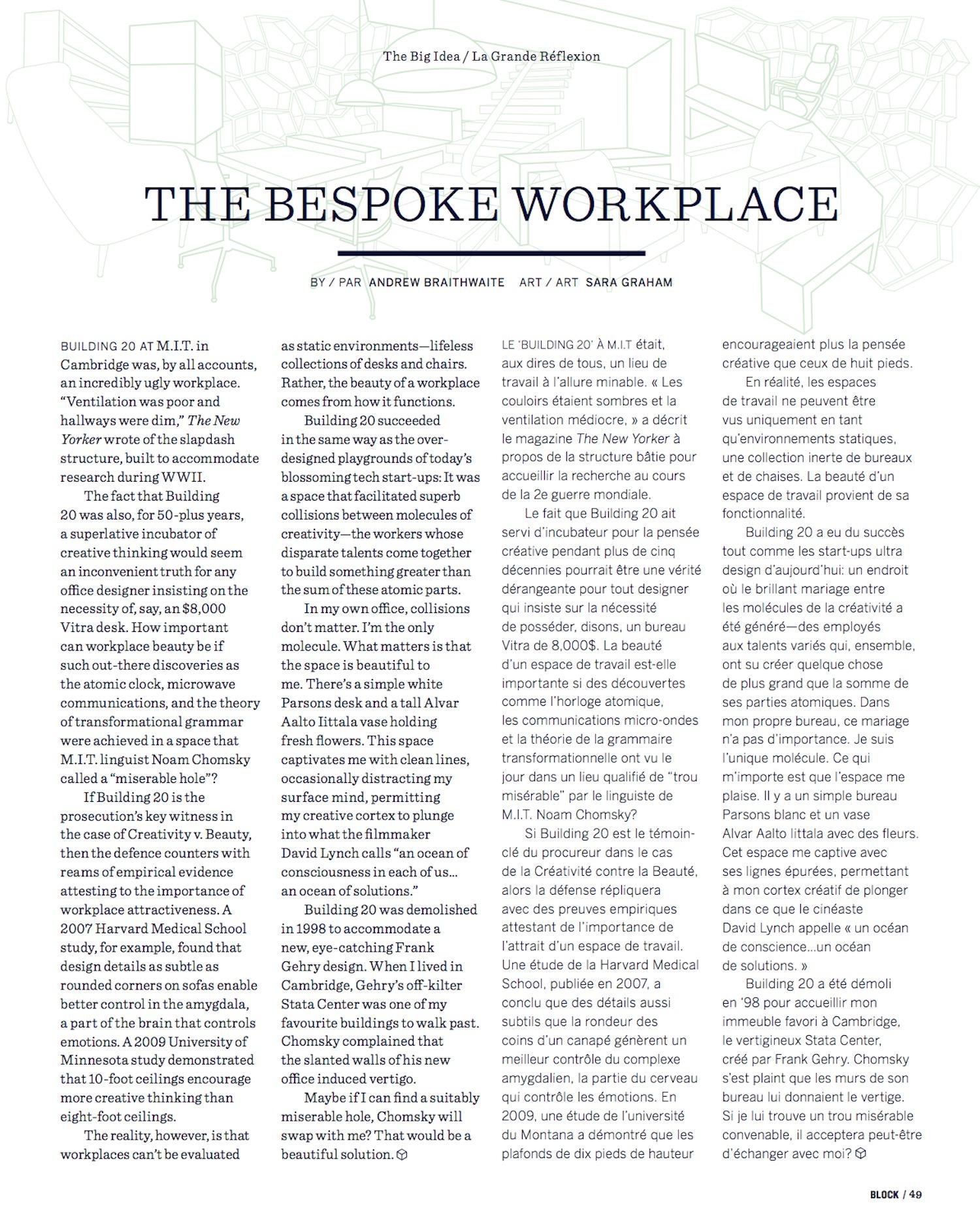 The Bespoke Workplace // Block // 2013 // pdf