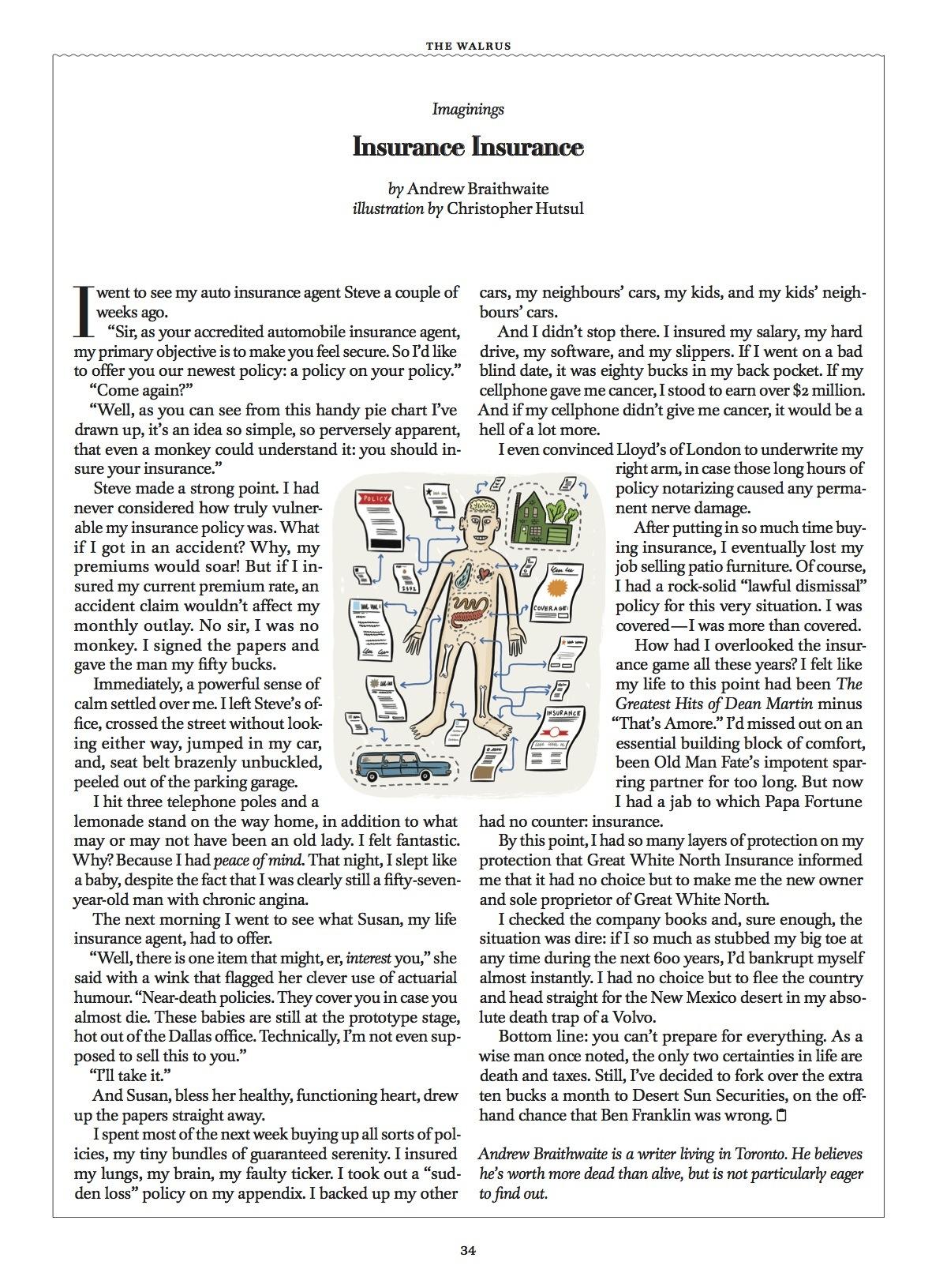 Insurance Insurance // The Walrus // 2006 // pdf