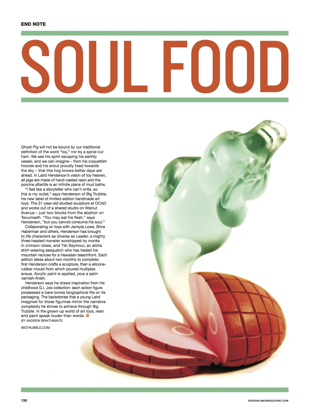 Soul Food // Designlines // 2013 // pdf