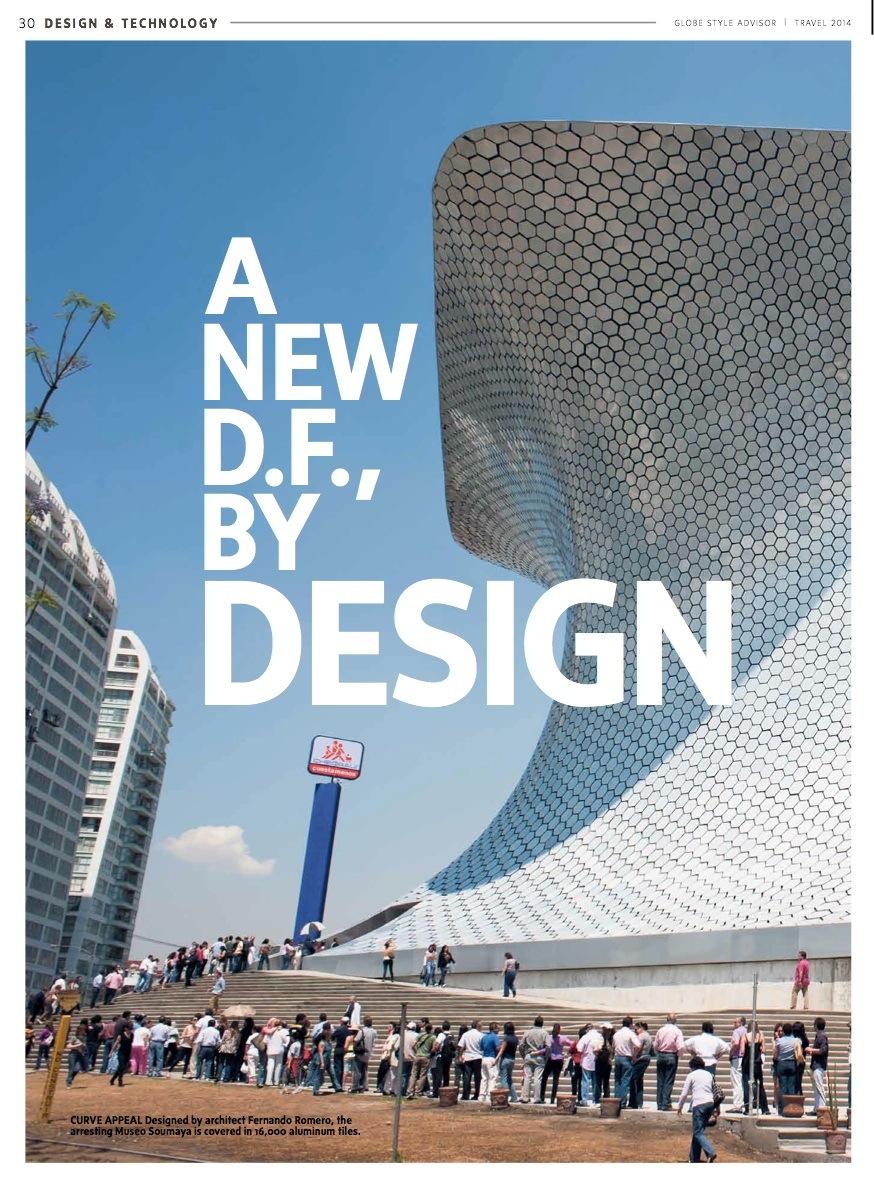 A New D.F., By Design // Globe & Mail StyleAdvisor // 2014 // pdf