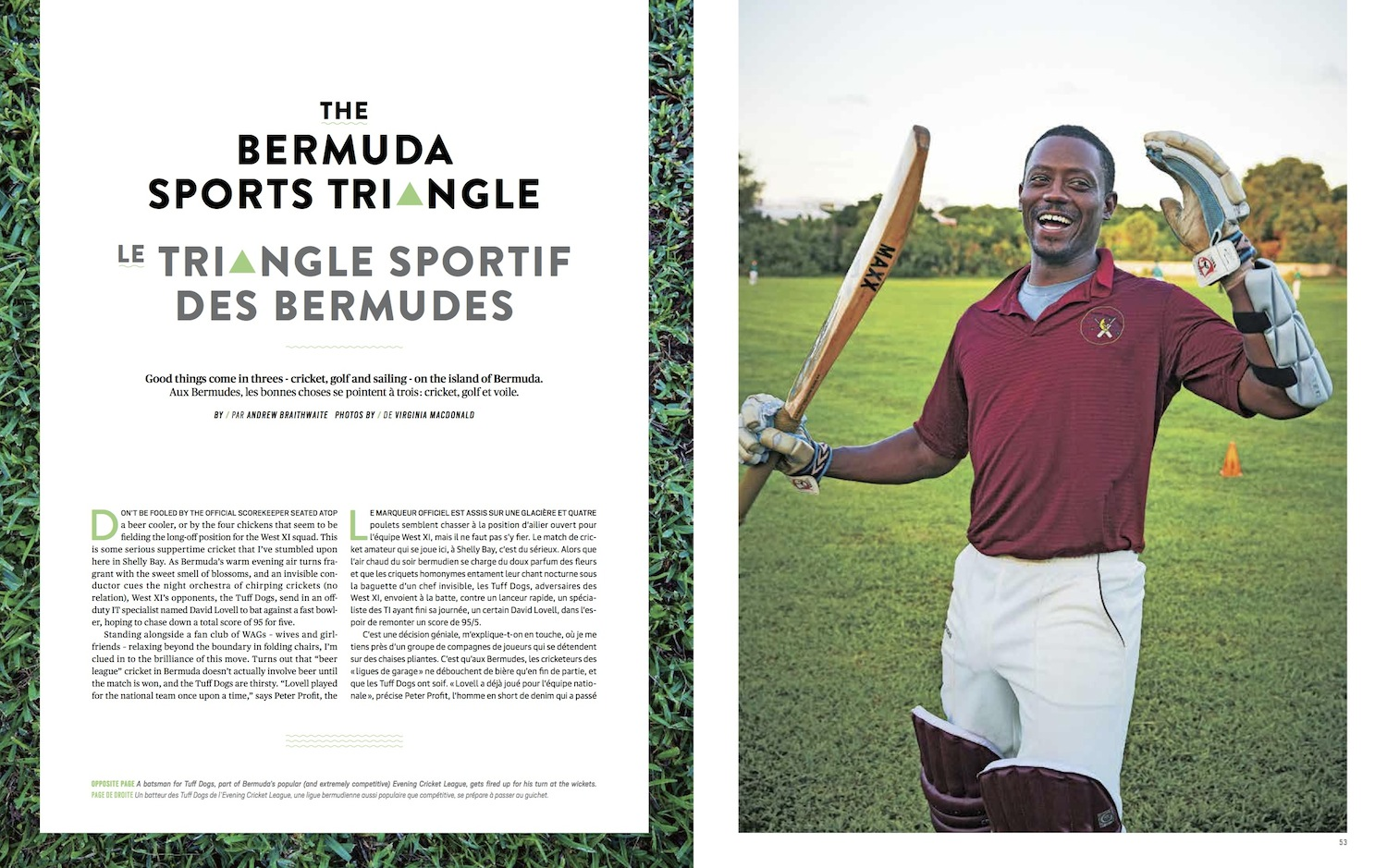 The Bermuda Sports Triangle  //  enRoute  //  2014  //  web