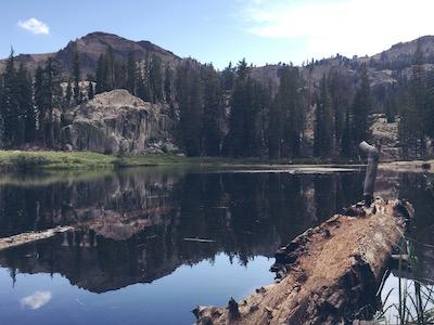 Shirley Lake, Squaw Valley, California