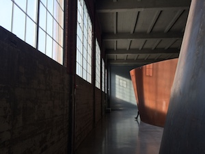 Richard Serra at Dia: Beacon. Photo by Jen Roy.