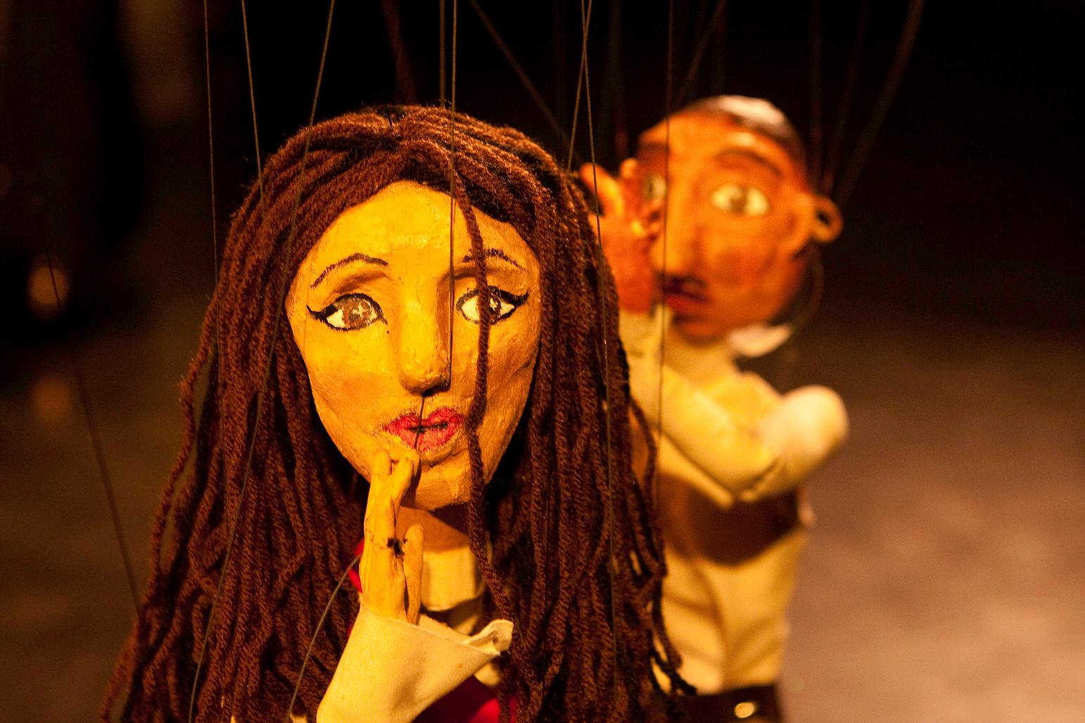 image: Silken Veils  directed by Leila Ghaznavi;  photo by Nick Shoob