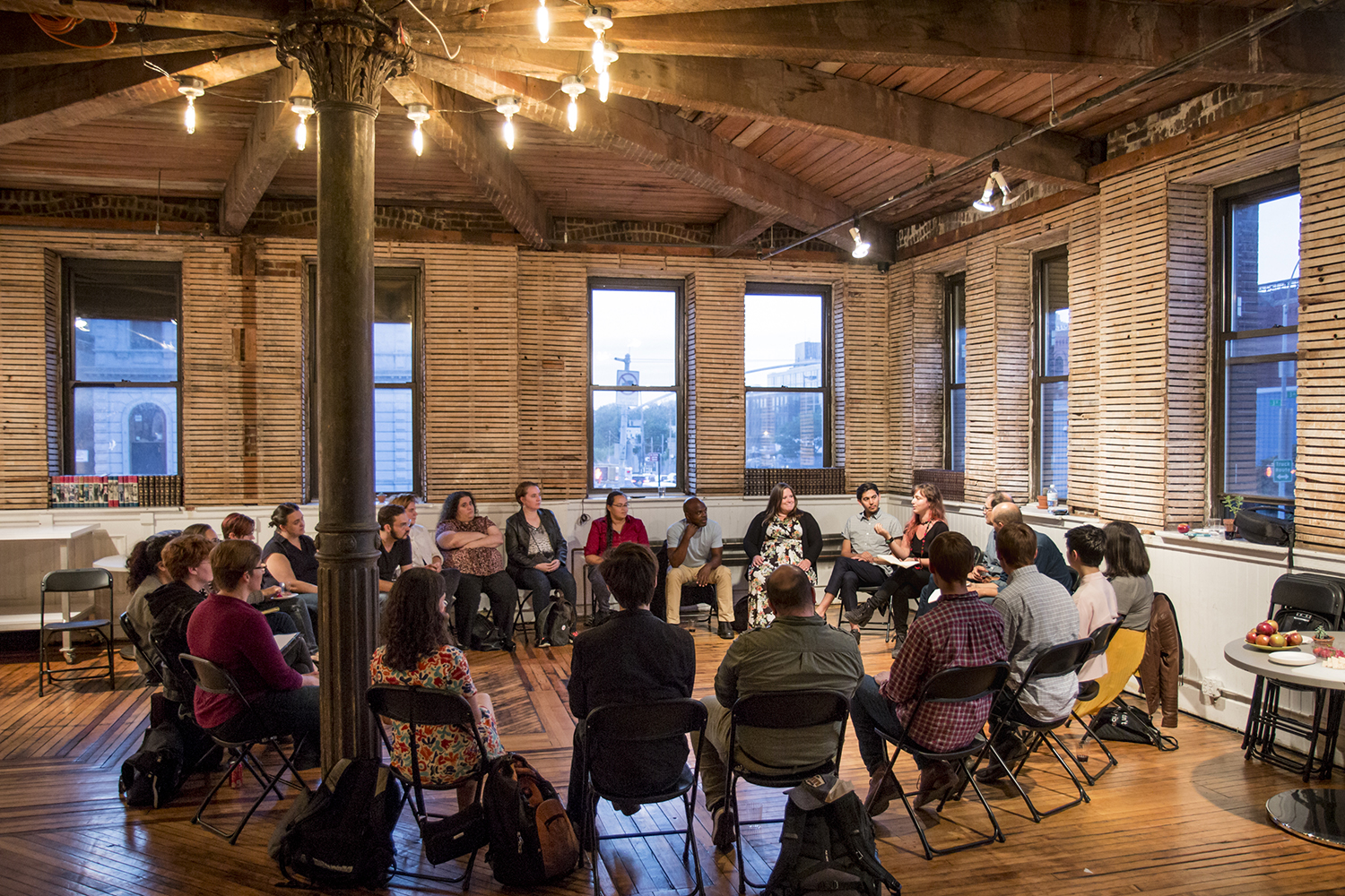 Wingspace is an organization of theater artists that fosters conversations on design, strengthens our community, and furthers activism in the field. - MORE ABOUT WINGSPACE
