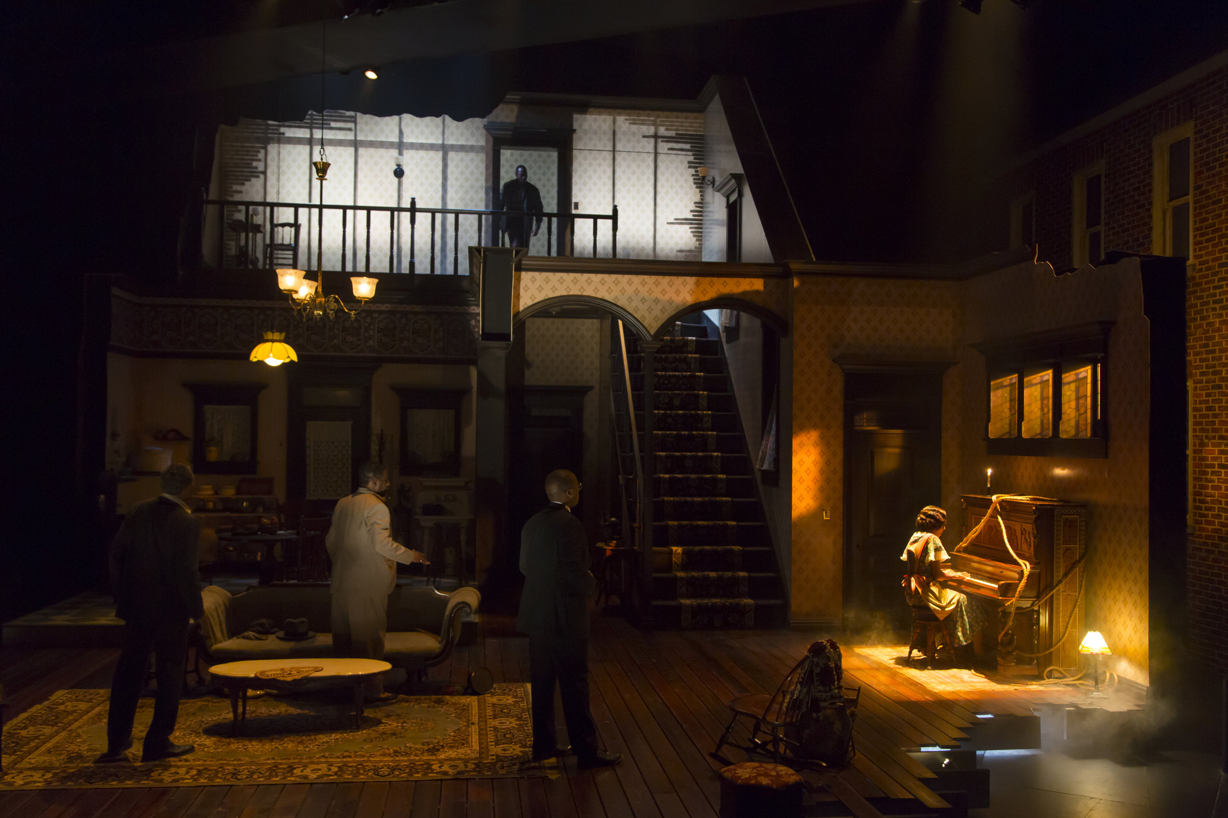The Piano Lesson at Hartford Stage Company by: T. Charles Erickson
