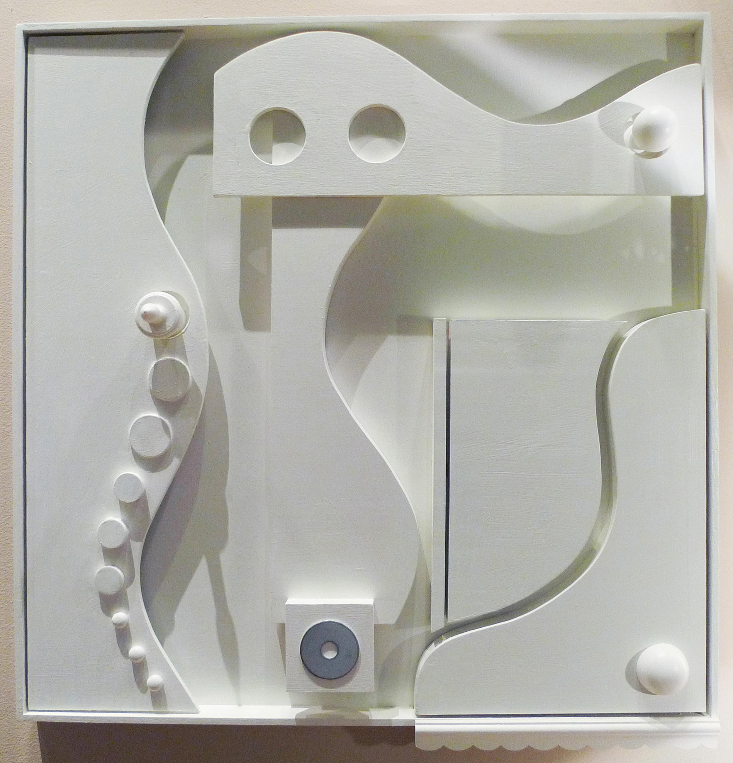 white wood sculpture 2
