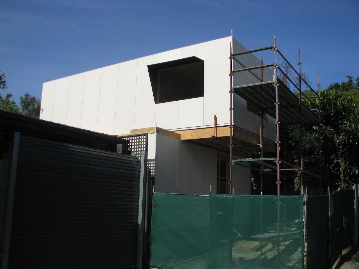 Hawthorn Studio - construction.JPG