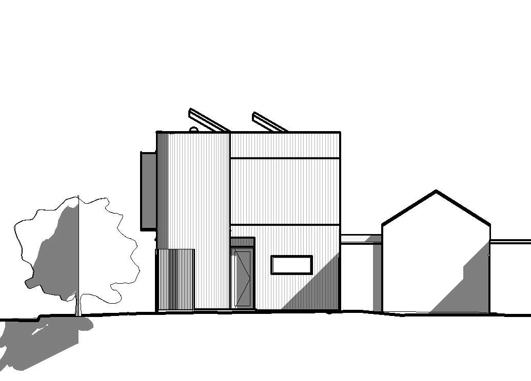 2017 Port Mebourne House_Marketing Drawings for Website 20171128 - Elevation - Studio - South Elevation Marketing.jpg