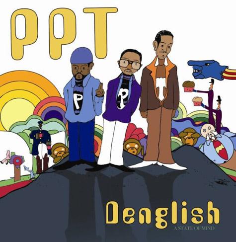 PPT Denglish CD / DVD Cover artwork by Bilal aka Ynot aka Antonio Hunnington 2008 iDOL Records
