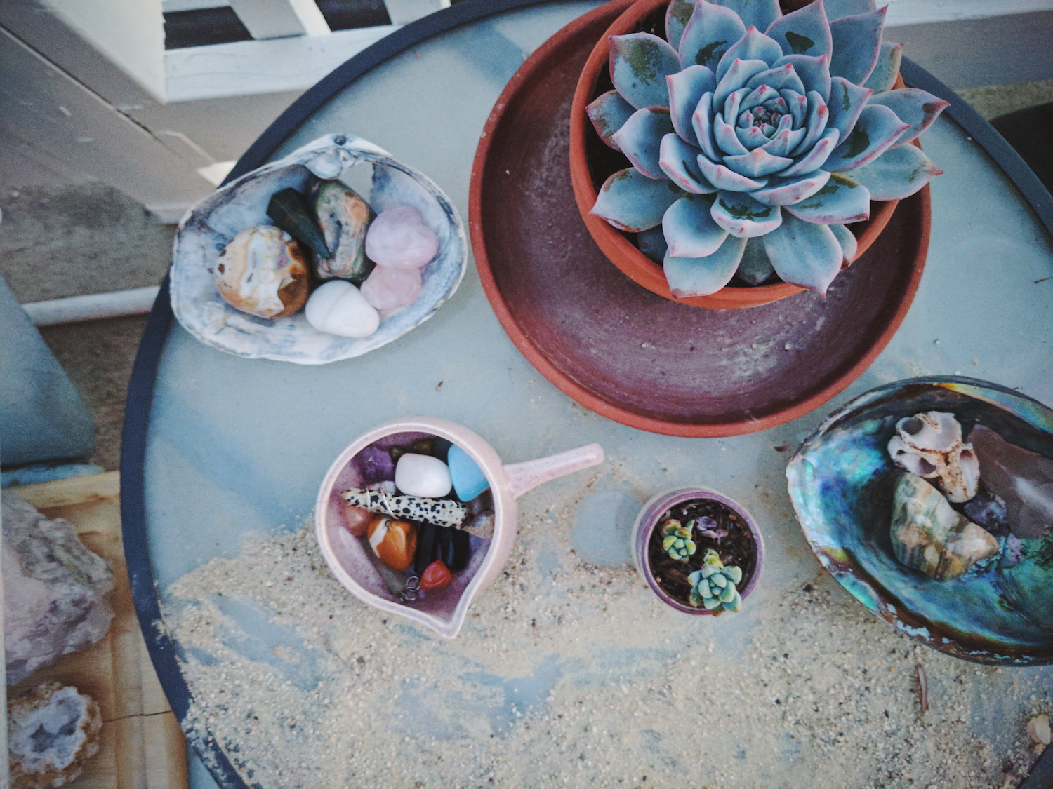 kaitlin coghill doula ventura santa barbara be always blooming crystals succulent