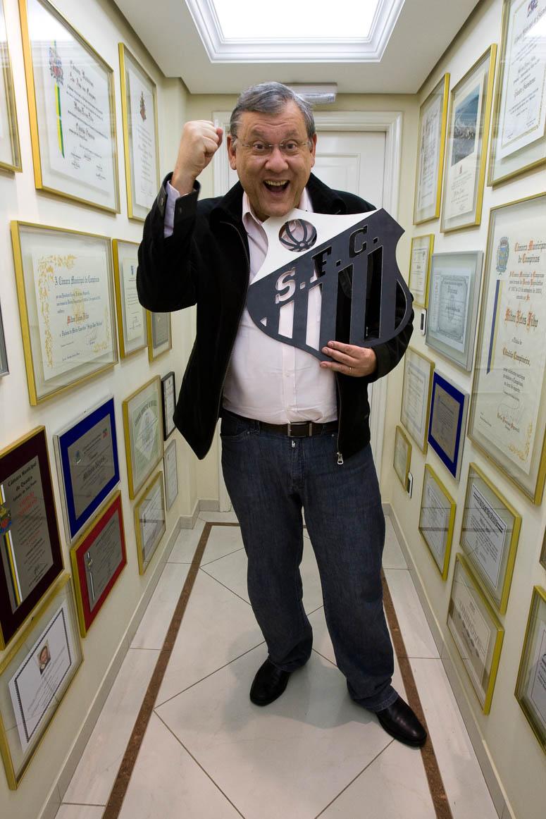 Milton Neves, comentarista esportivo
