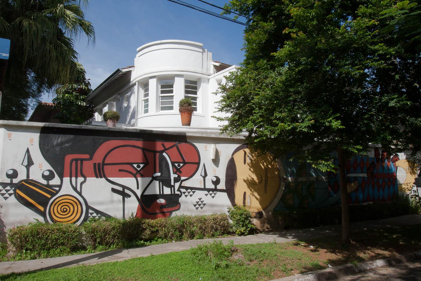 Grafite em casa no Jardins