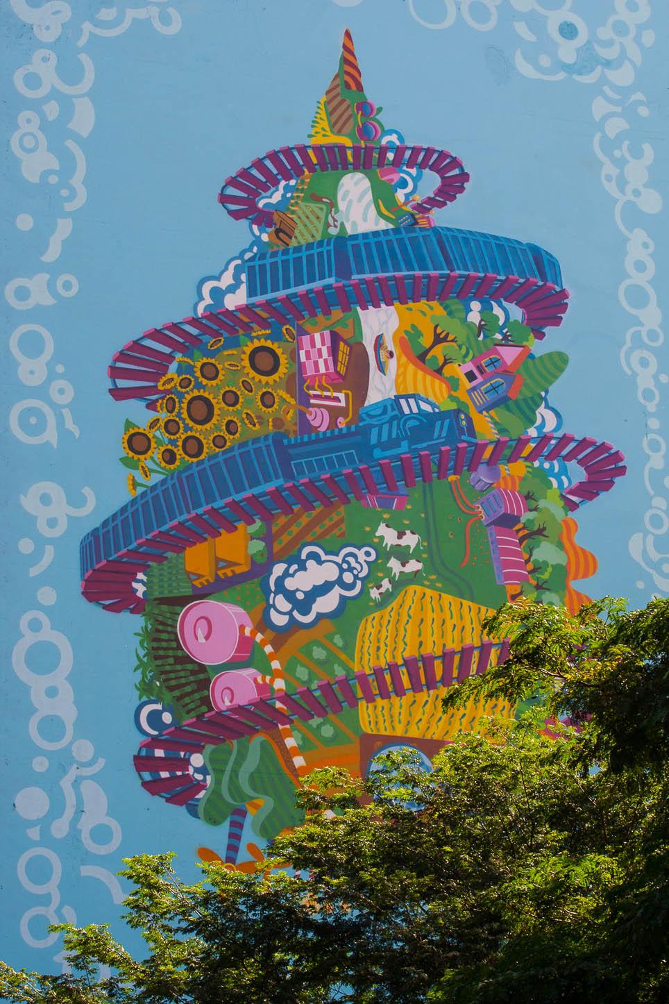 Grafite na Av. faria Lima