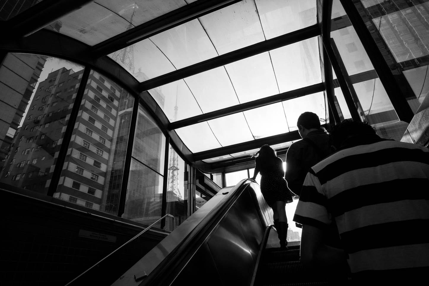 Estação Brigadeiro do metrô na av. Paulista
