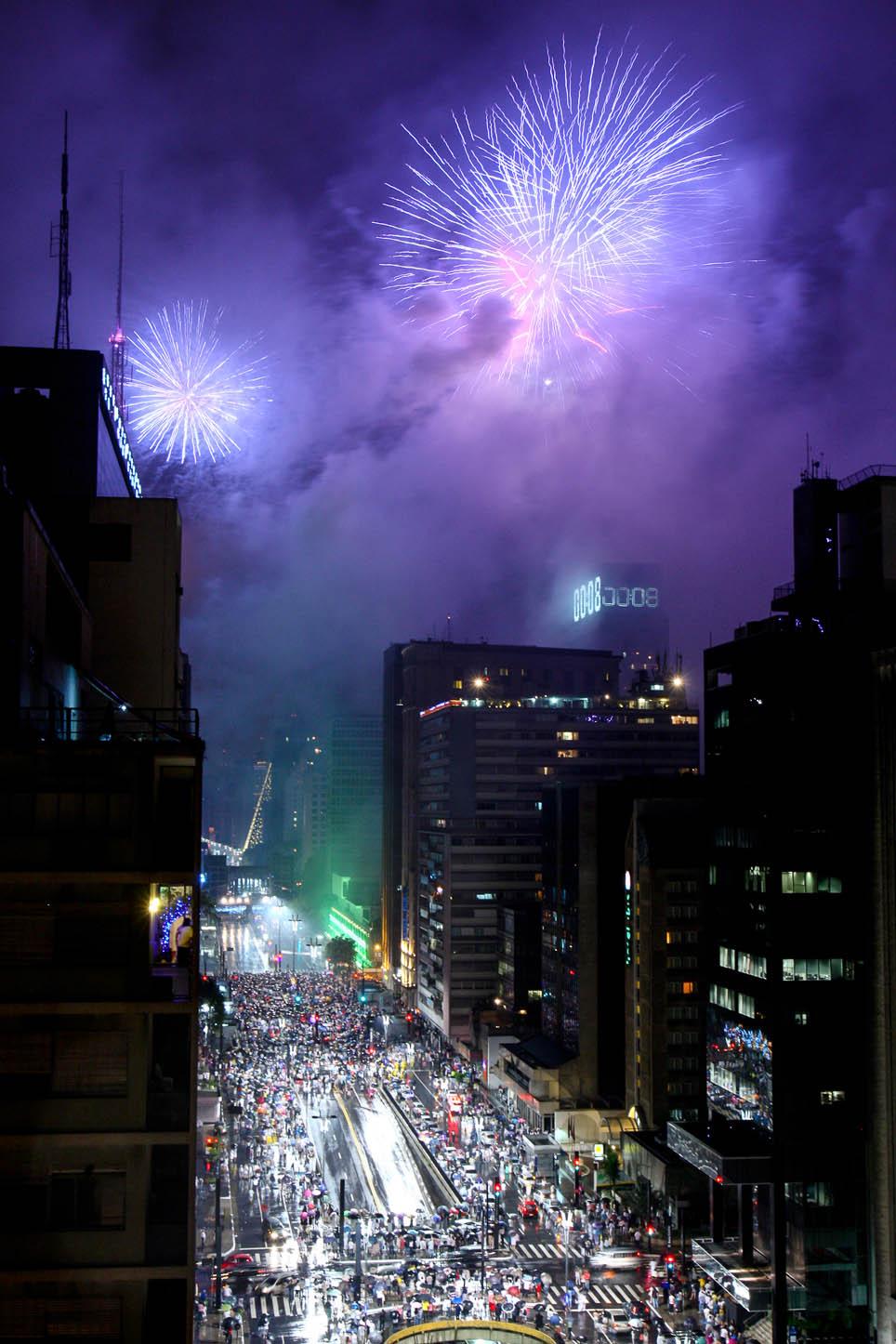 Reveillon 2012 na av. Paulista