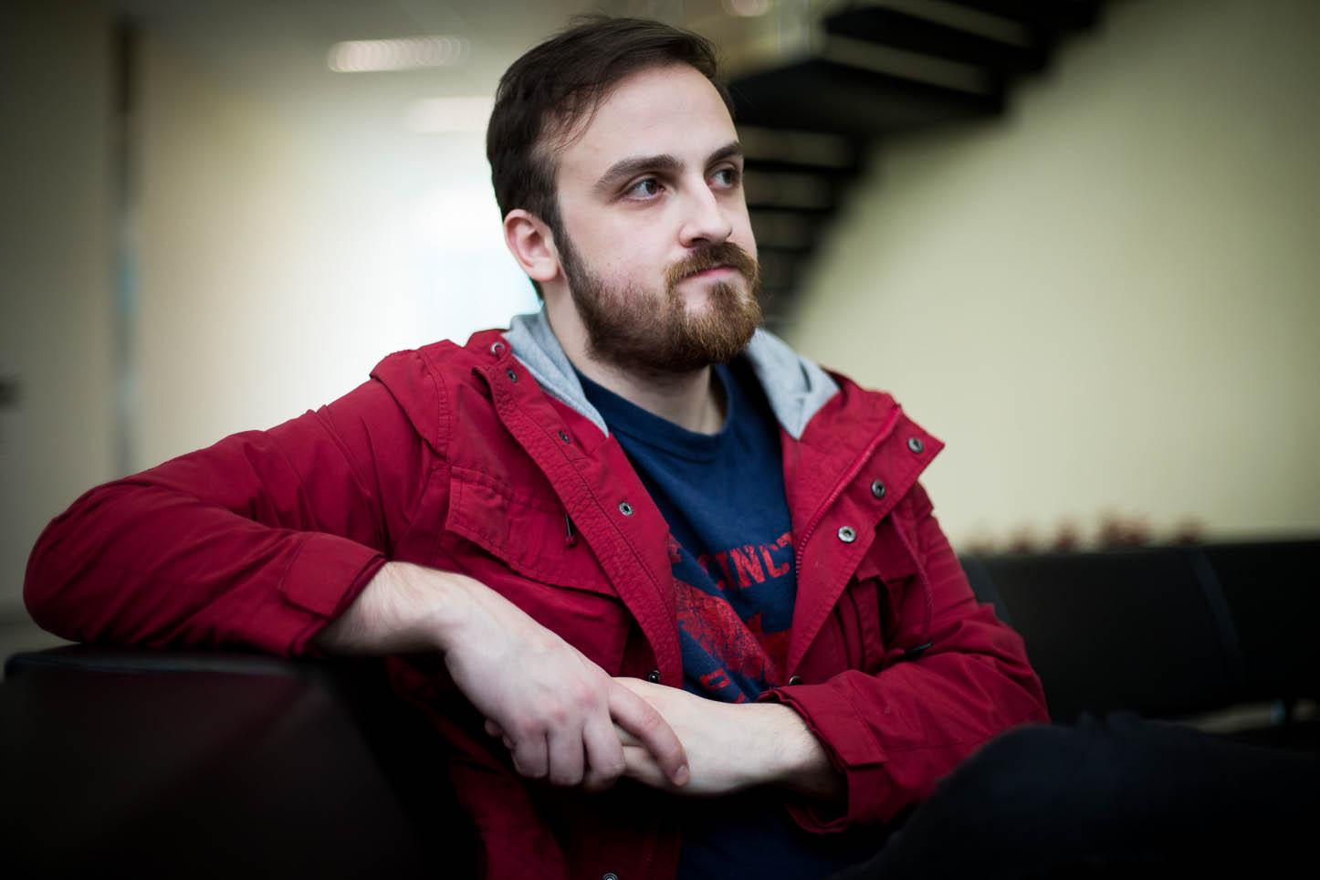 Davi Pretto, diretor do filme Castanha. Foto: Mario Miranda Filh
