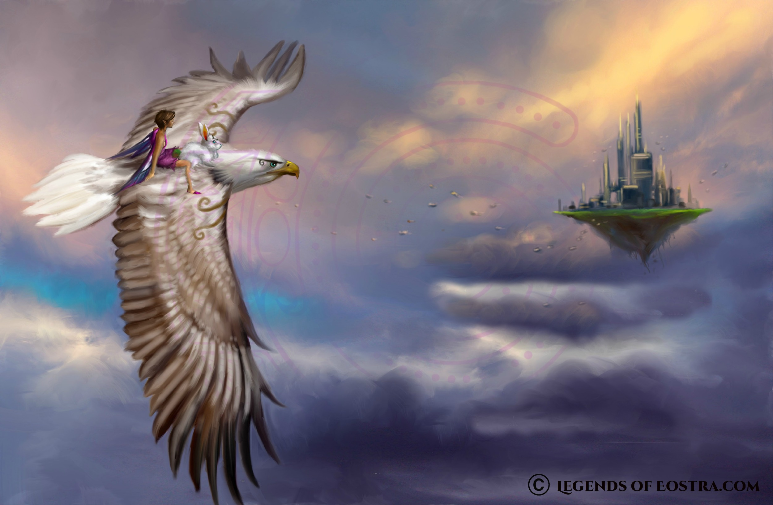 Flying to Thilameth
