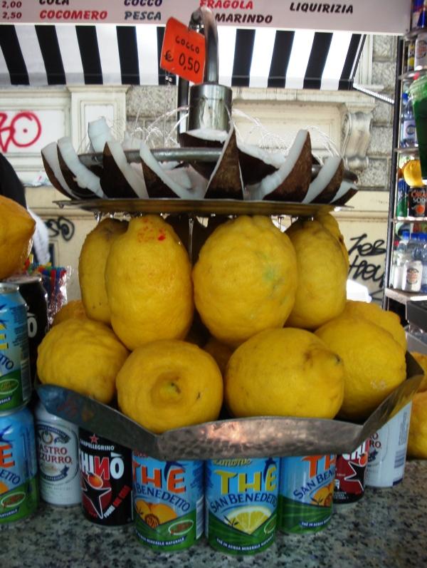 Grattachecca Lemon and Coconut Fountain.JPG