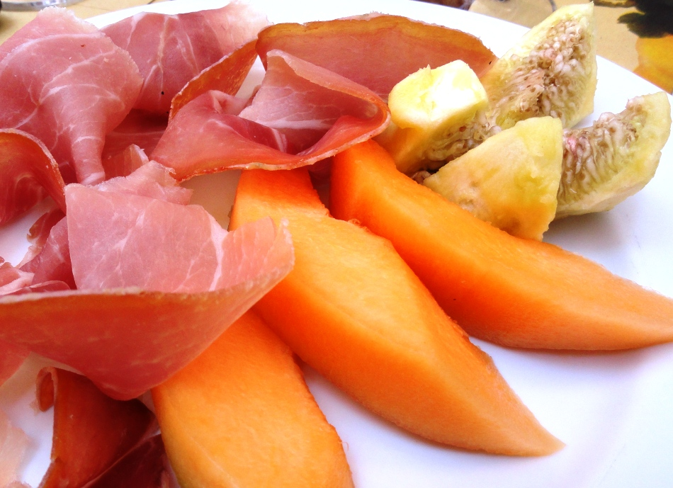 Prosciutto melone e fichi freschi.JPG