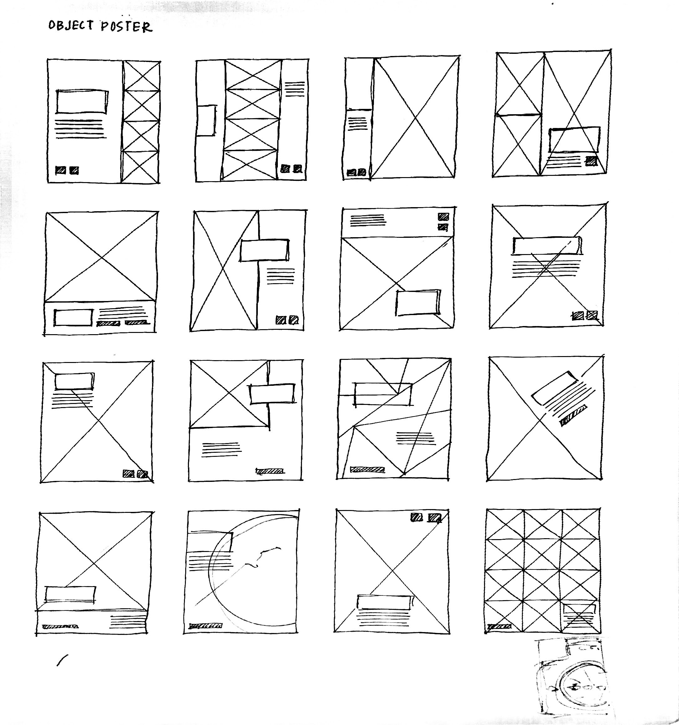 Placement sketches.
